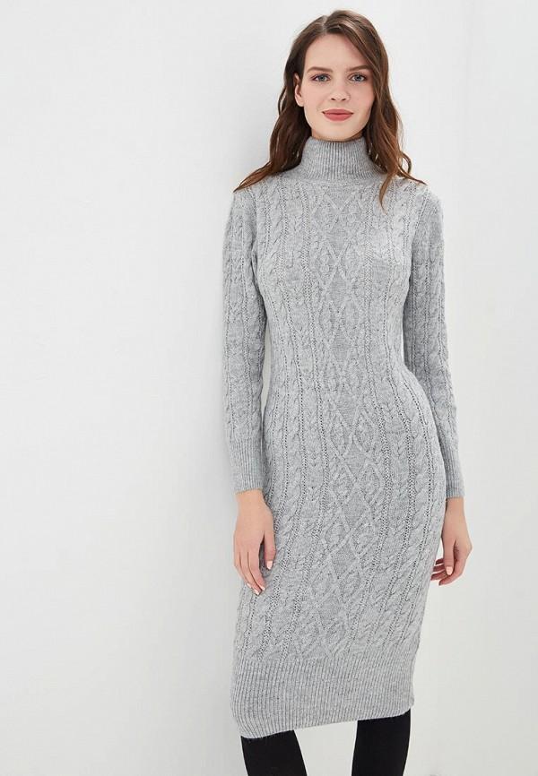 женское платье zarina, серое