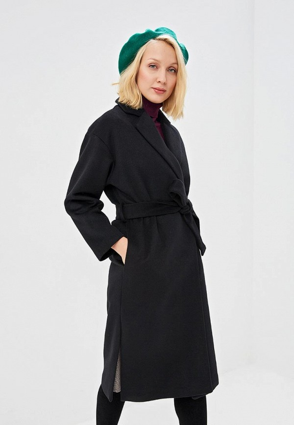 женское пальто zarina, черное