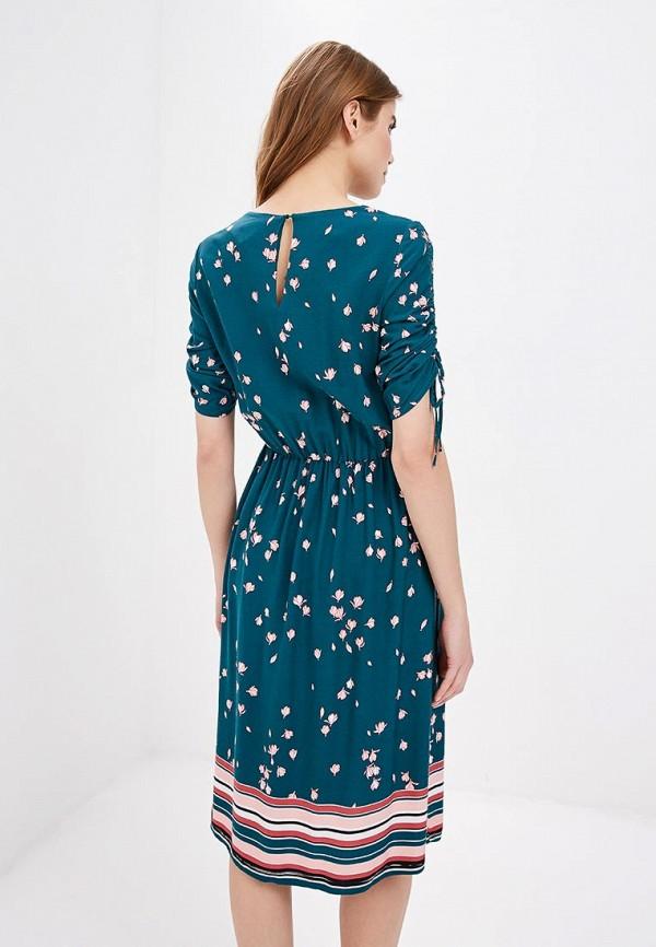 Фото 3 - женское платье Zarina бирюзового цвета