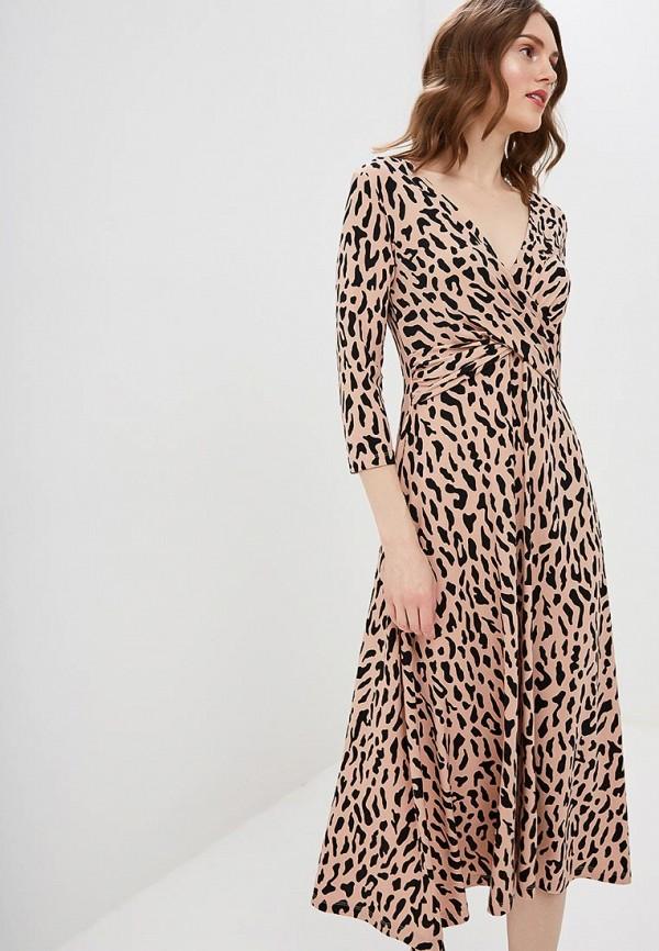 женское повседневные платье zarina, розовое