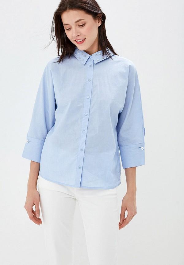 Фото - женскую блузку Zarina голубого цвета