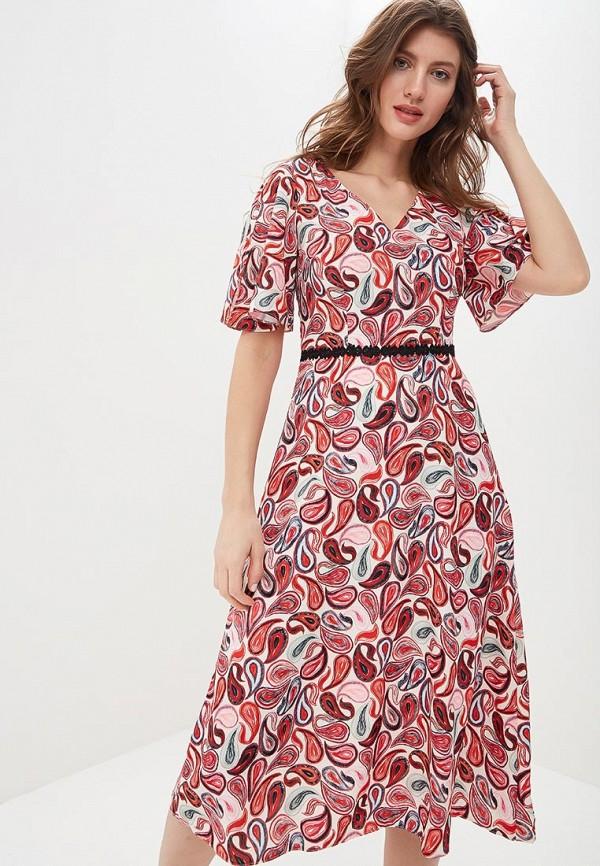 женское повседневные платье zarina, разноцветное