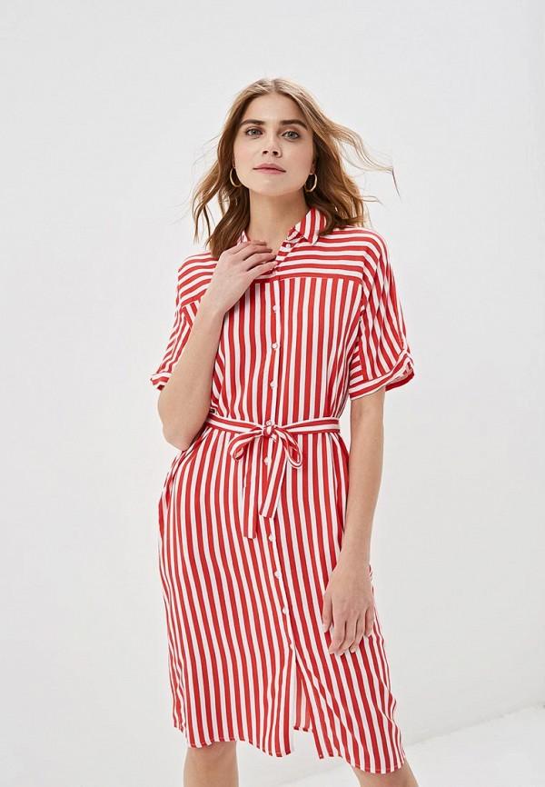 Фото - женское платье Zarina красного цвета
