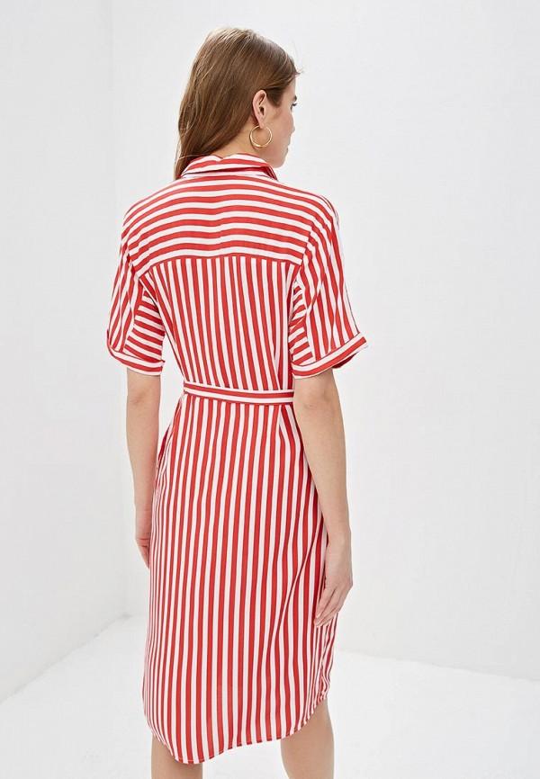 Фото 3 - женское платье Zarina красного цвета