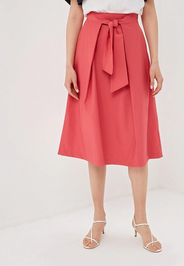 женская прямые юбка zarina, розовая