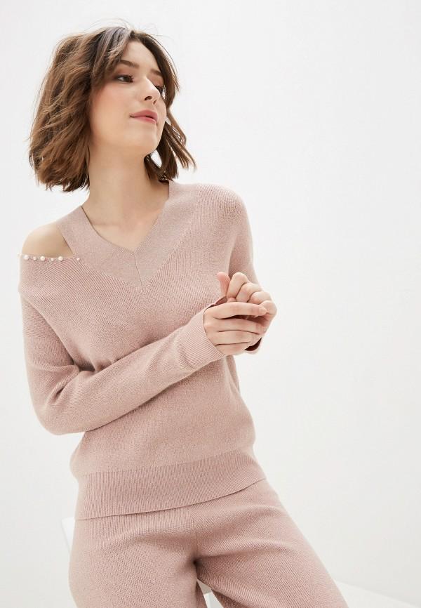 женский пуловер zarina, розовый