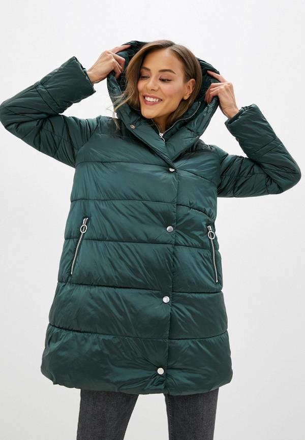 женская куртка zarina, зеленая