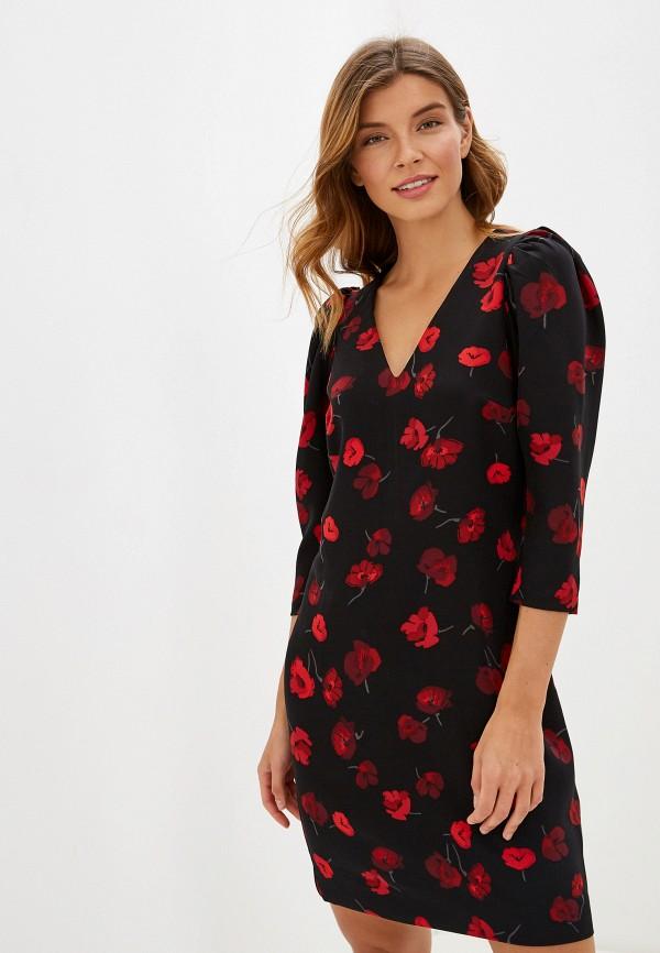Фото - женское платье Zarina черного цвета