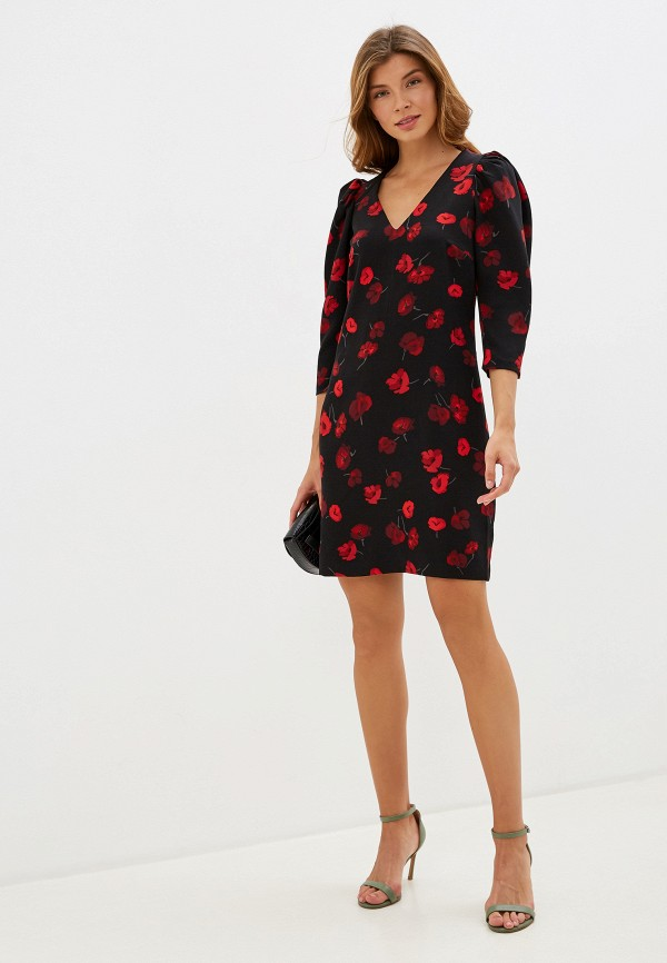 Фото 2 - женское платье Zarina черного цвета