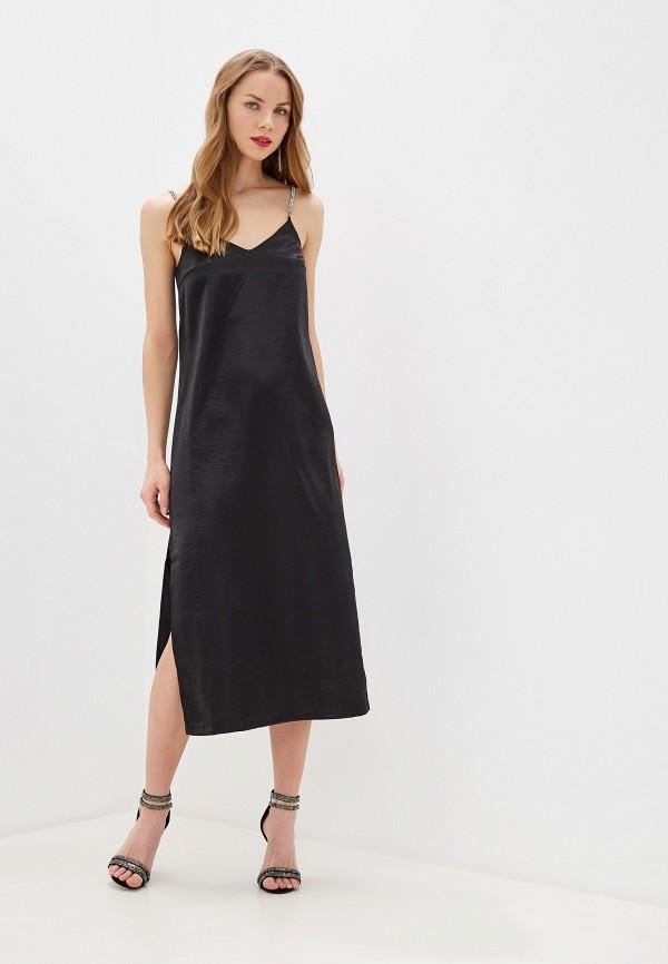 женское платье zarina, черное
