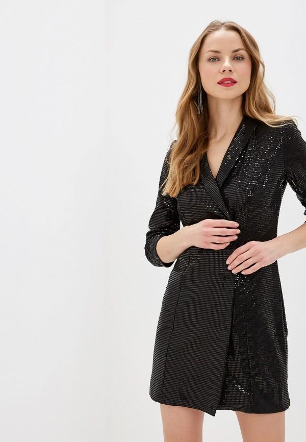 женское вечерние платье zarina, черное
