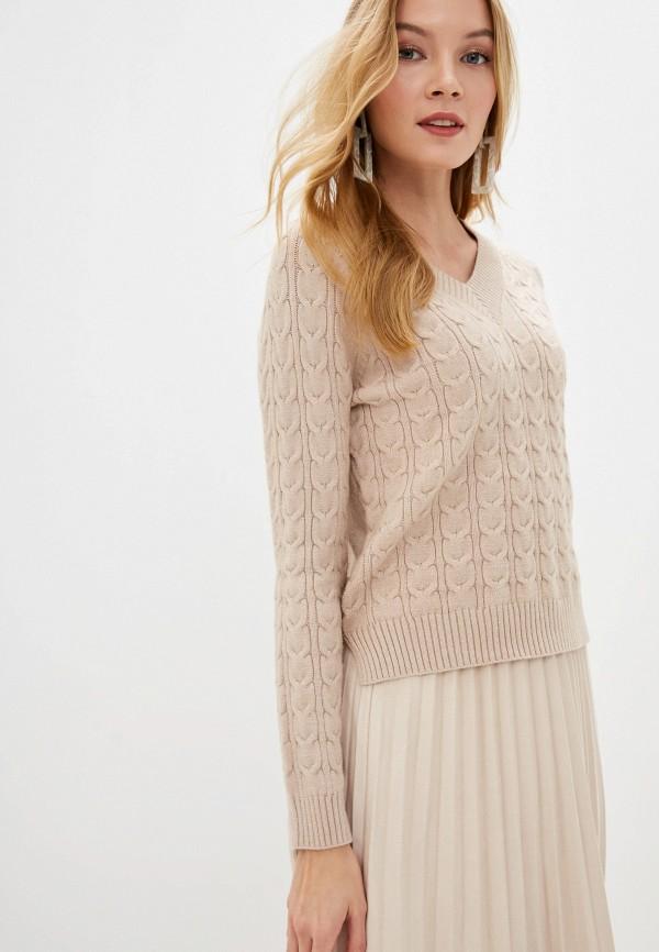 женский пуловер zarina, бежевый