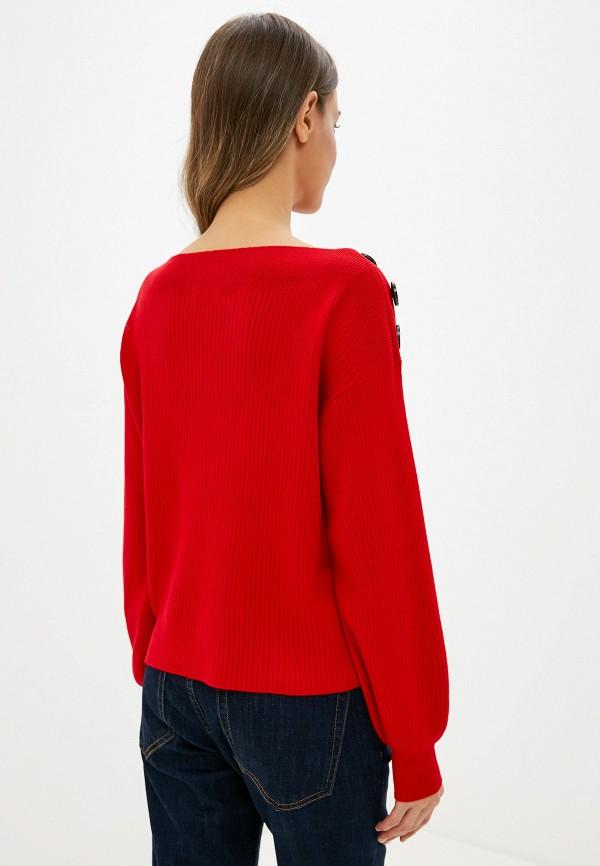 Фото 3 - женский джемпер Zarina красного цвета
