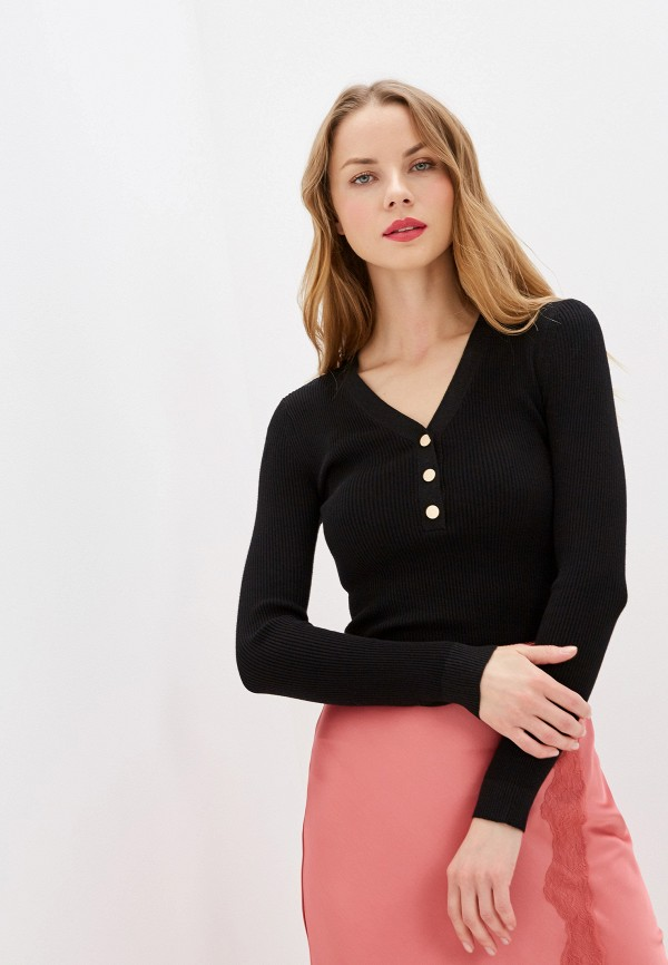 женский пуловер zarina, черный