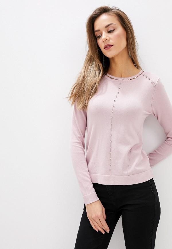 женский джемпер zarina, розовый