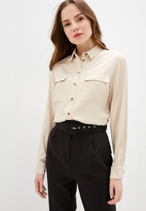 женская блузка zarina, бежевая