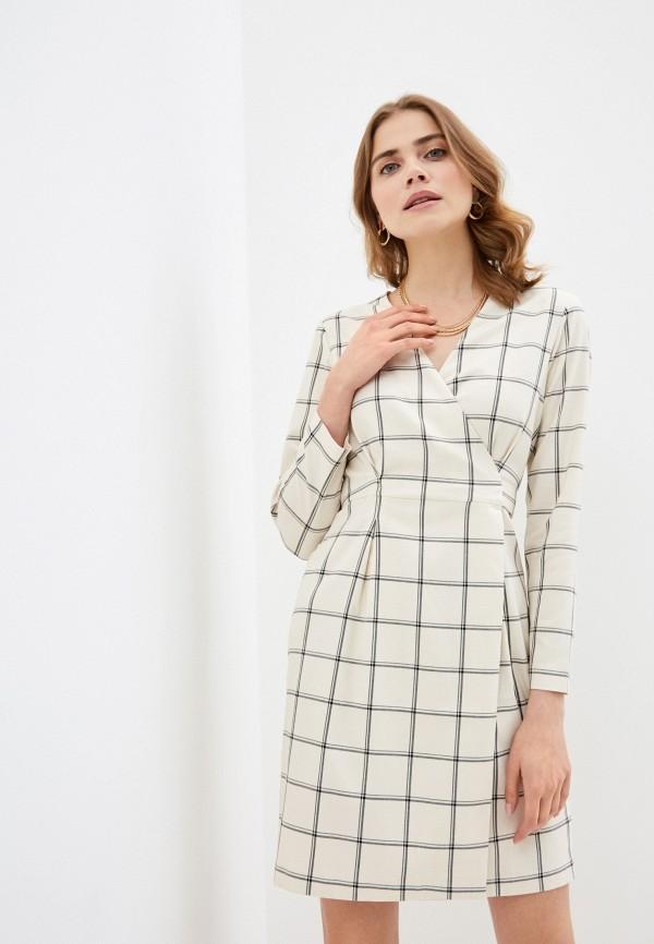 женское платье zarina, белое