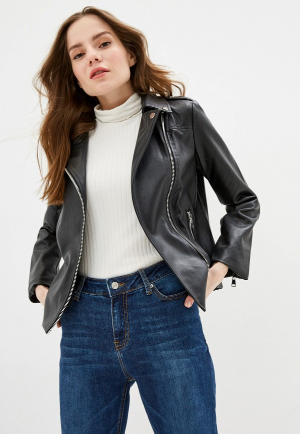 женская куртка zarina, черная