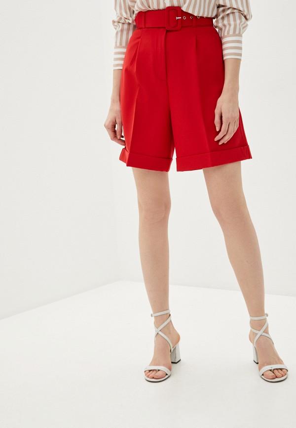 женские повседневные шорты zarina, красные