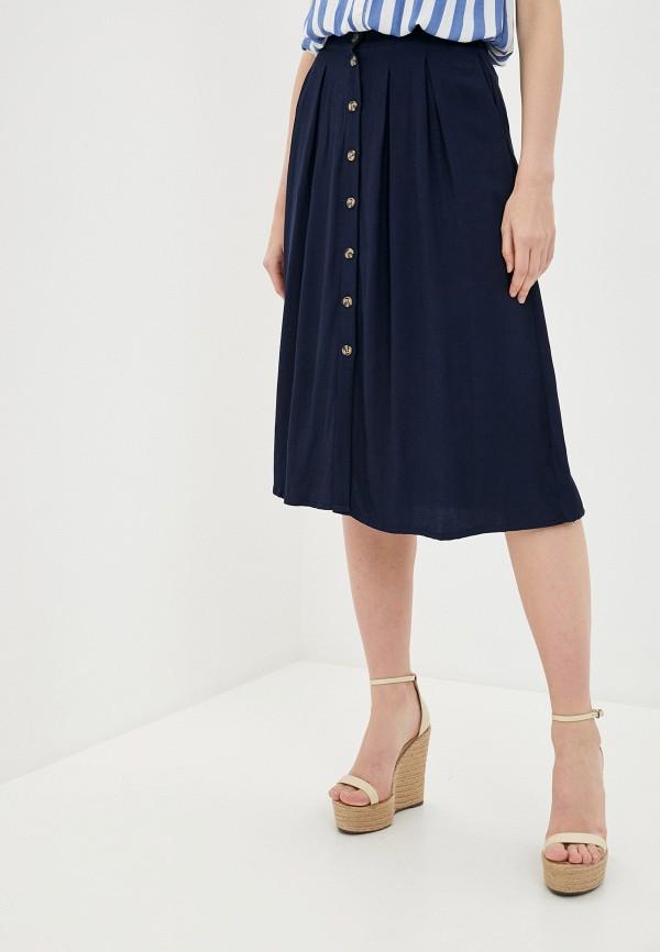 женская юбка zarina, синяя