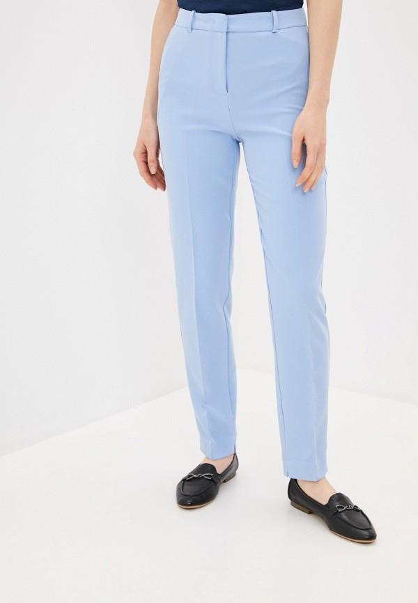 женские классические брюки zarina, голубые