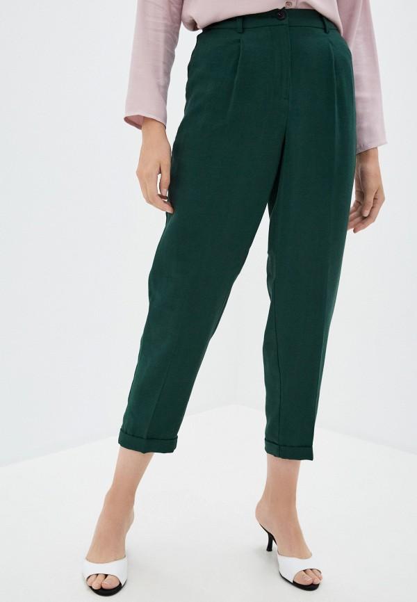 женские повседневные брюки zarina, зеленые