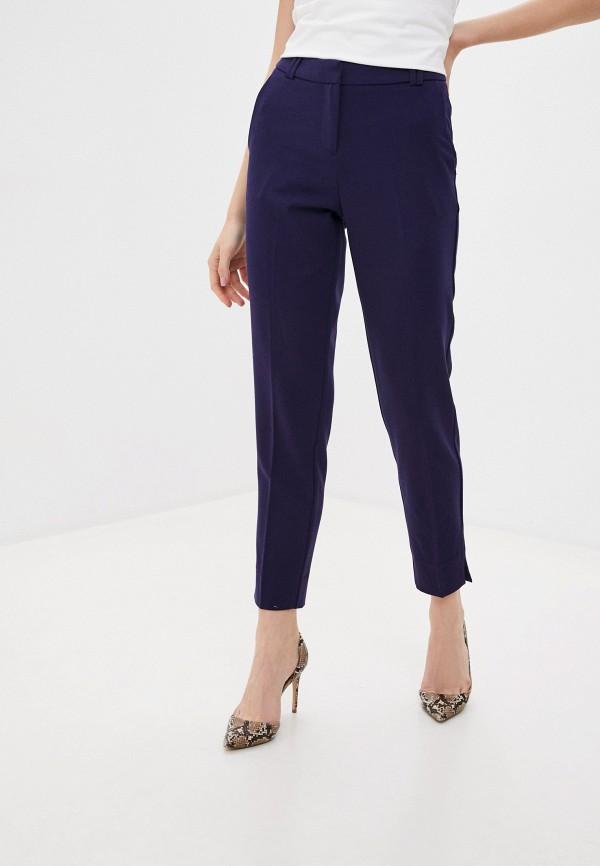 женские классические брюки zarina, синие