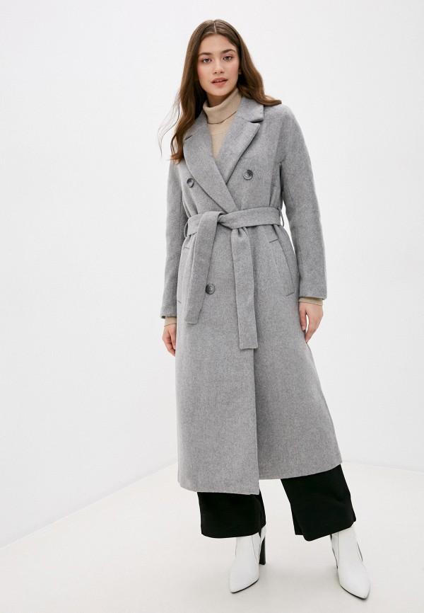 женское пальто zarina, серое