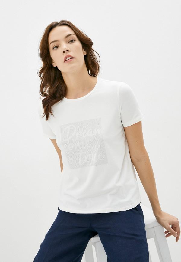 женская футболка zarina, белая
