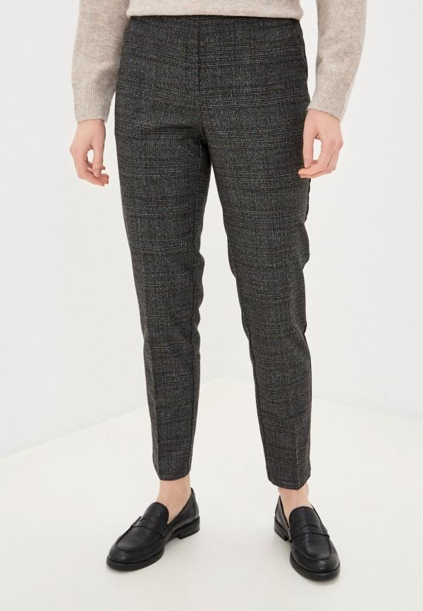 женские повседневные брюки zarina, серые