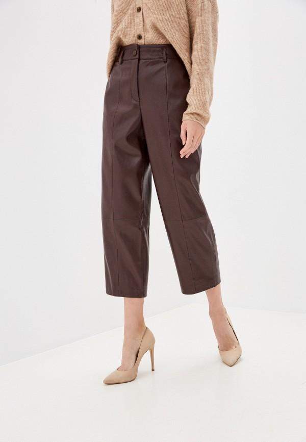 женские брюки zarina, коричневые