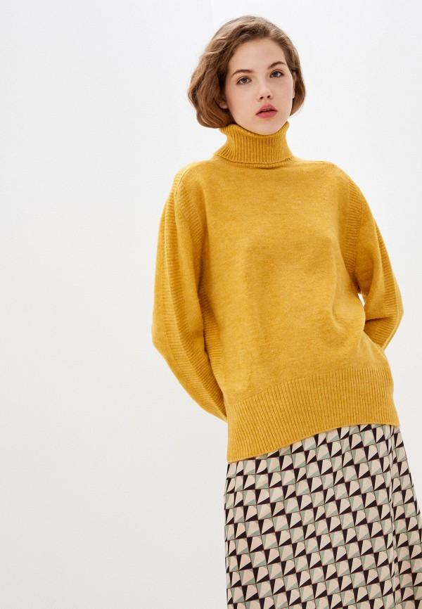 женский свитер zarina, желтый
