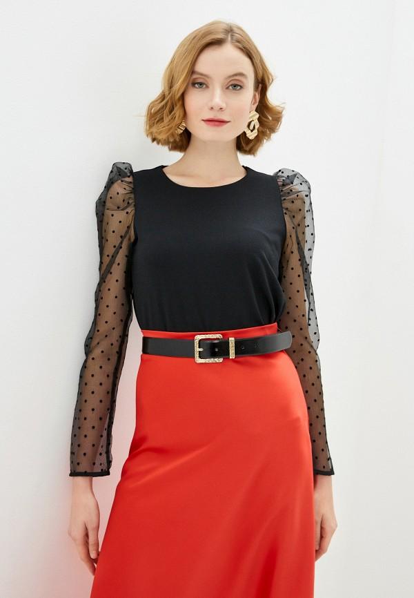 женская блузка zarina, черная