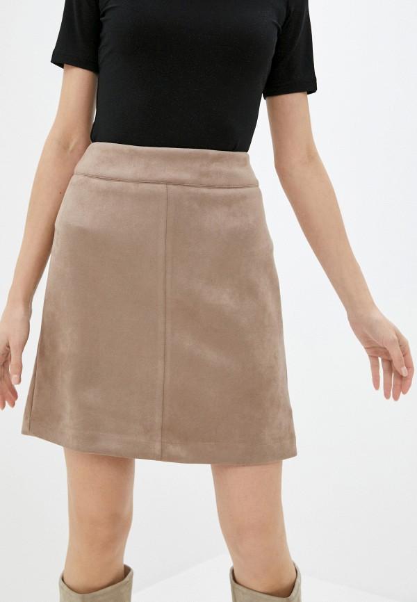 женская юбка zarina, бежевая