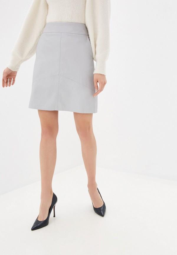 женская юбка zarina, серая