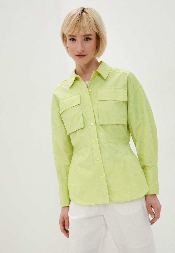 женская блузка zarina, зеленая