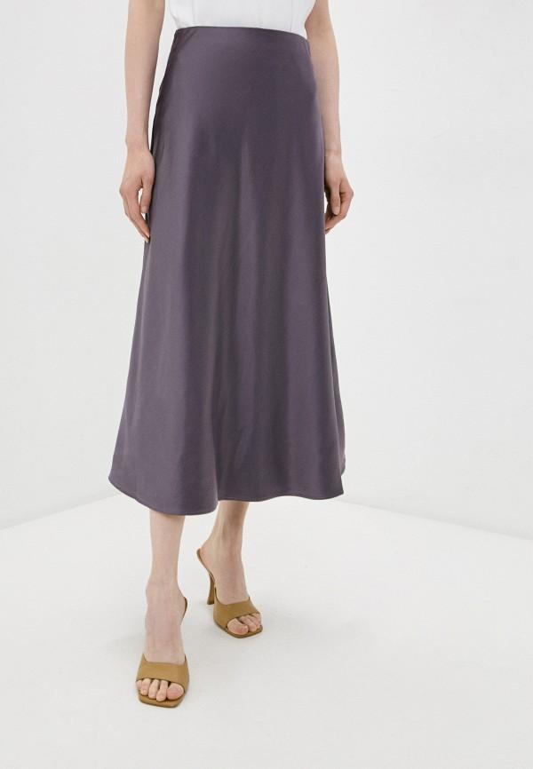 женская юбка zarina, фиолетовая