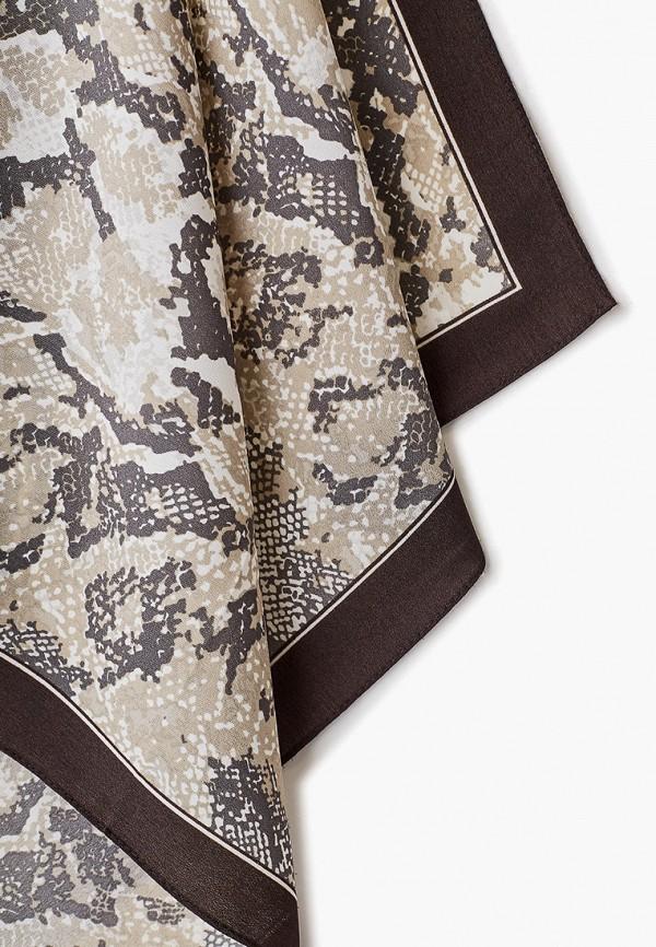 Фото 2 - женский платок Zarina серого цвета