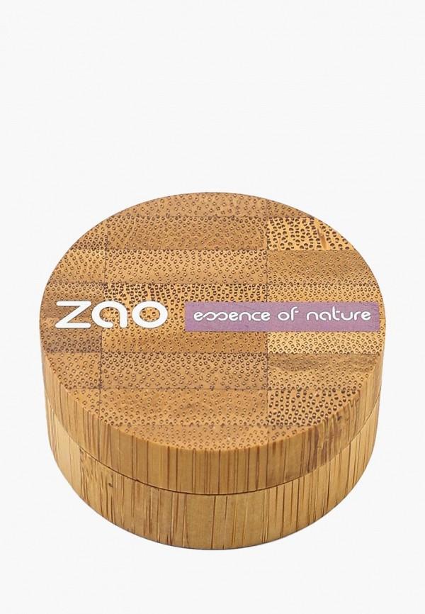 тени для век zao essence of nature, розовый