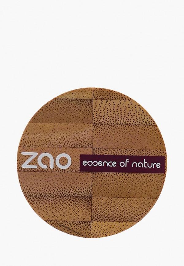 тени для век zao essence of nature, серый