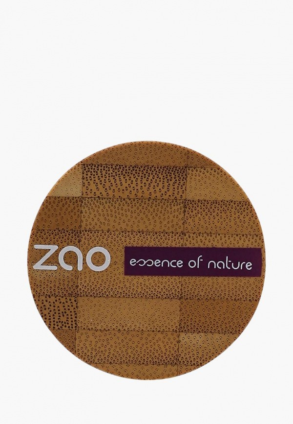 тени для век zao essence of nature, зеленый