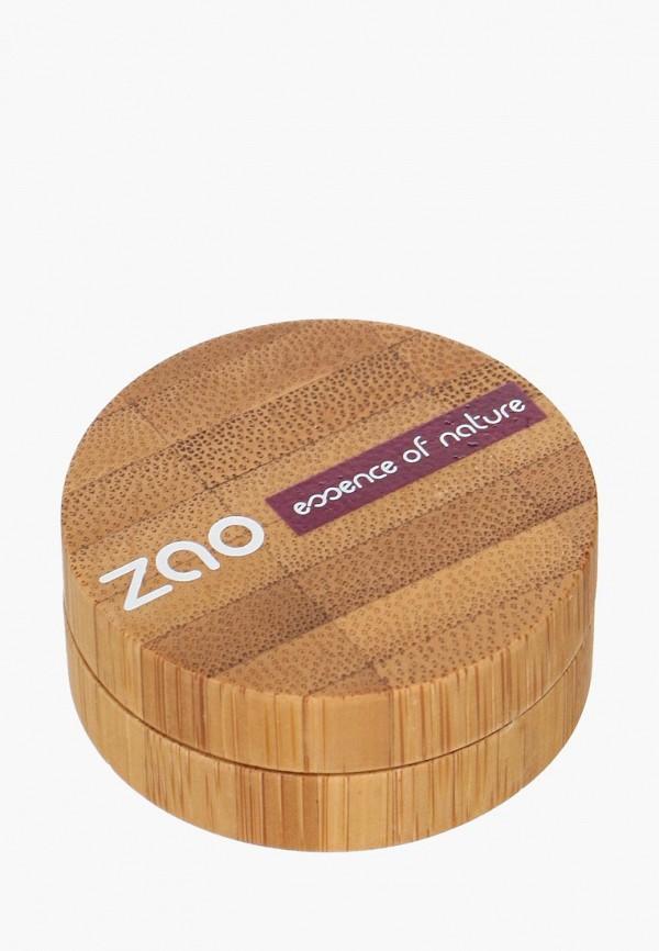 тени для век zao essence of nature, фиолетовый