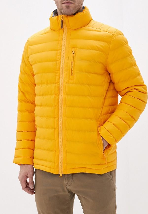 мужская куртка запорожец heritage, желтая