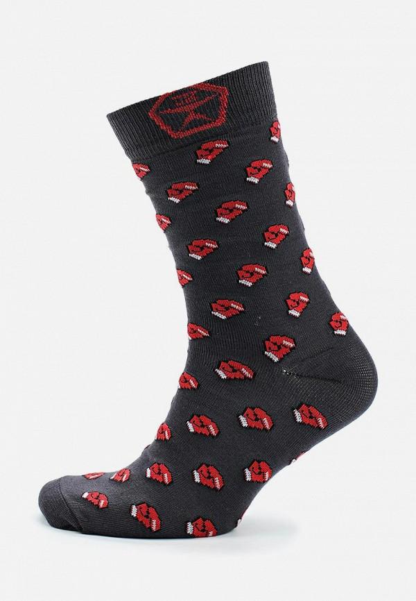 мужские носки запорожец heritage, серые