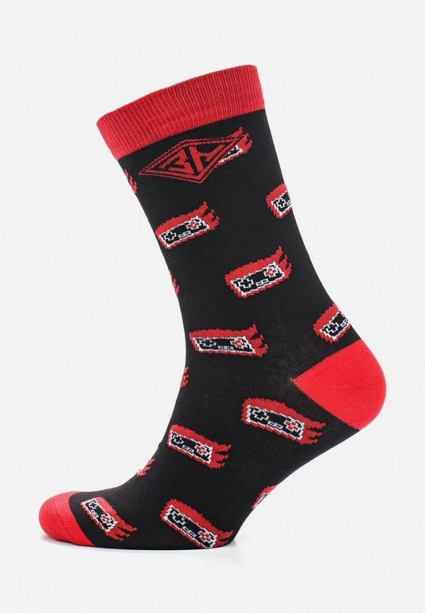 мужские носки запорожец heritage, черные