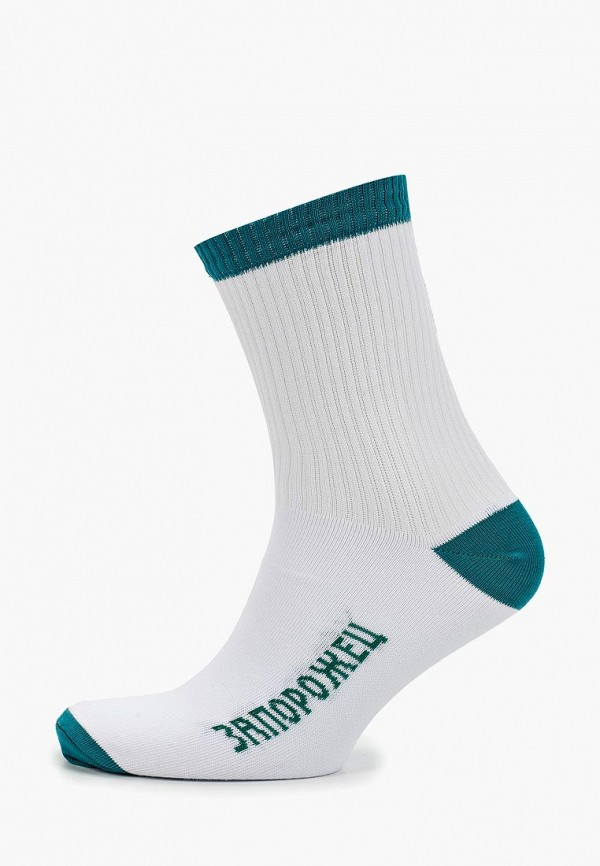 мужские носки запорожец heritage, белые