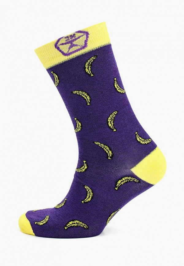 мужские носки запорожец heritage, фиолетовые