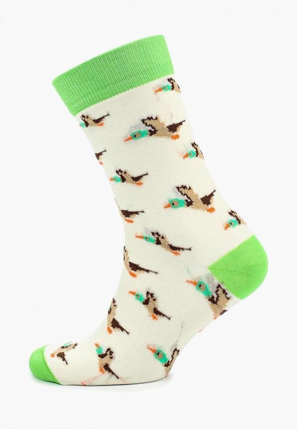 мужские носки запорожец heritage, бежевые