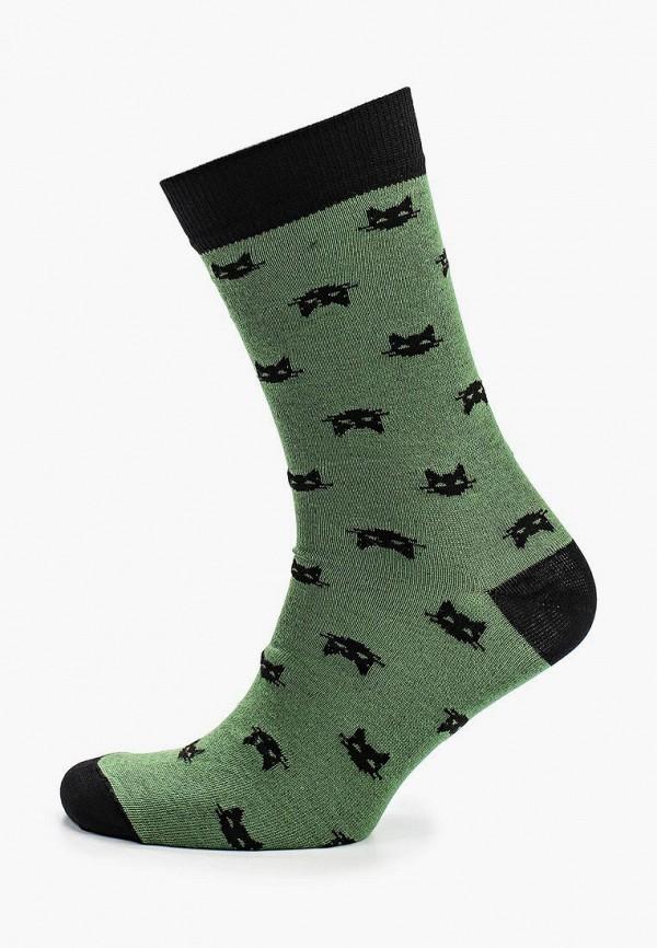 мужские носки запорожец heritage, зеленые