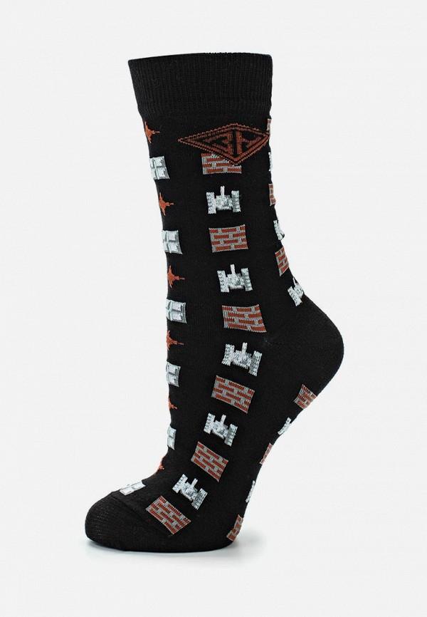 Фото - Мужские носки Запорожец Heritage черного цвета